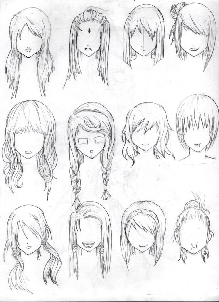 The Best Pin By Gaby On Cute Drawing Ideas How To Draw Hair Pictures