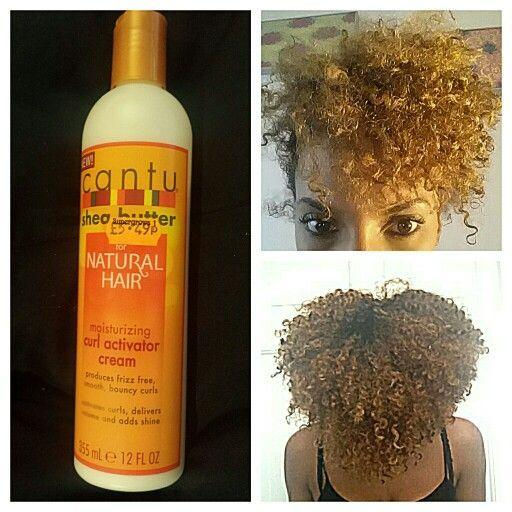 The Best My First Time Using The Cantu Shea Butter Curl Activator Pictures