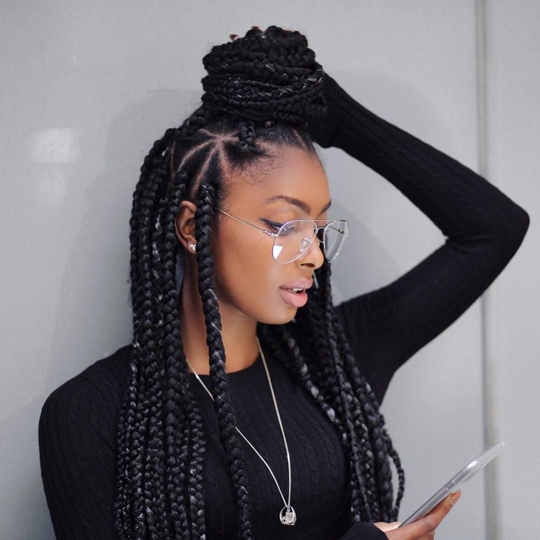 The Best Nice 45 Breathtaking Hairstyles With Big Box Braids Pictures