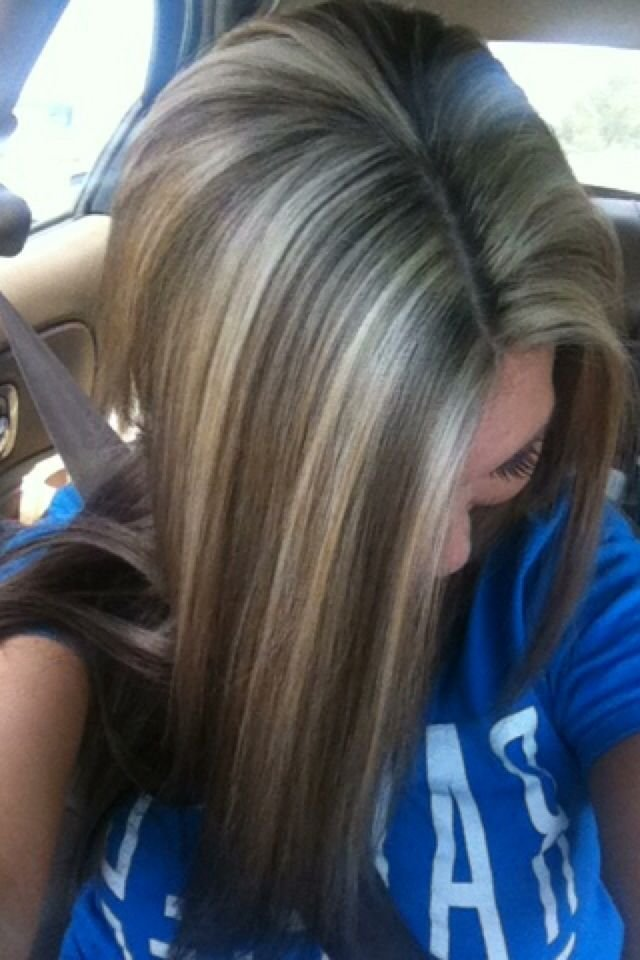 The Best Frosted Hair Color For Dark Hair With Gray Yahoo Image Pictures