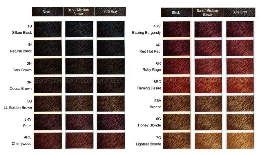 The Best Clairol Professional Hair Color Chart Numbers Thelifeisdream Pictures
