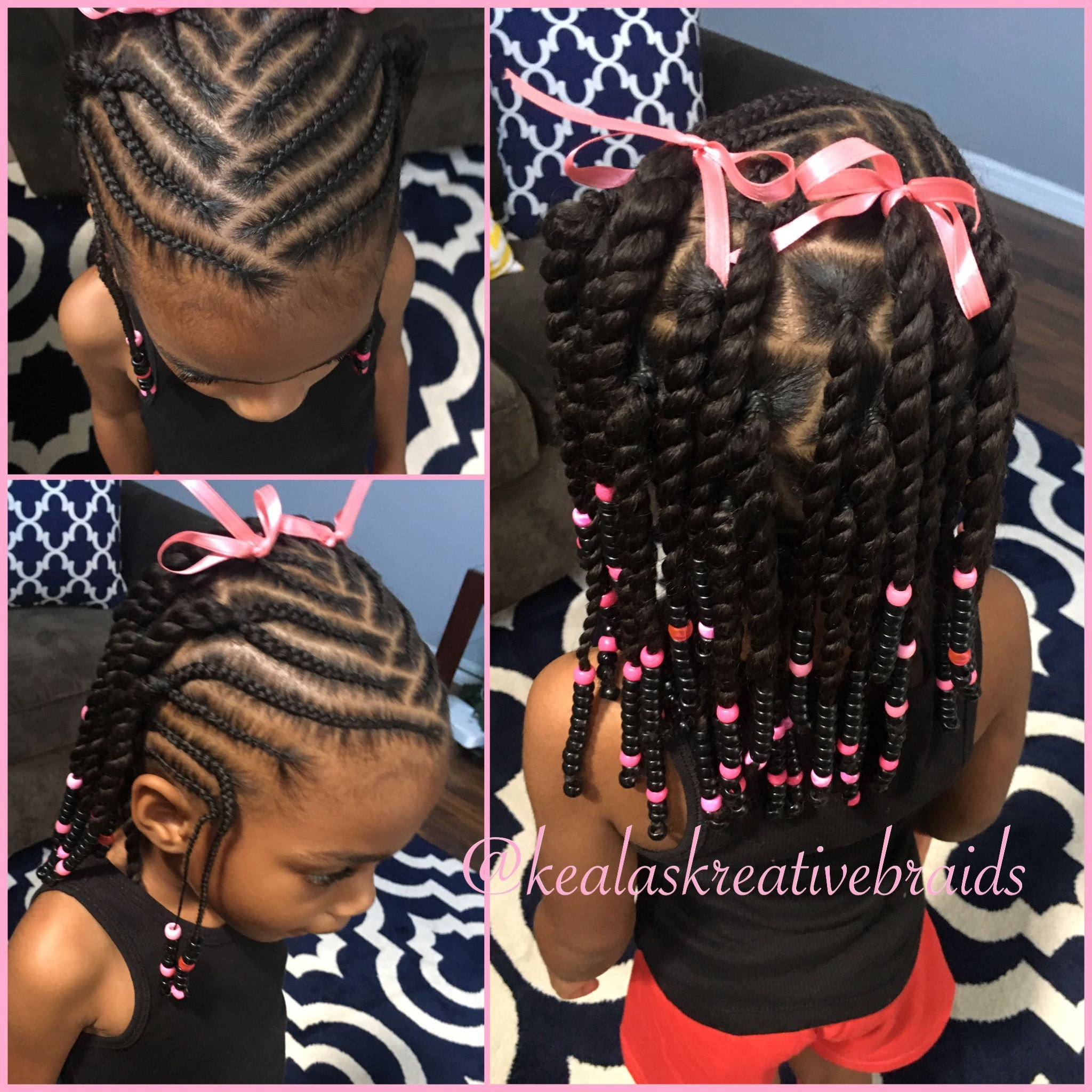The Best Little Girl Hairstyle Beads And Braids Hairstyles For Pictures