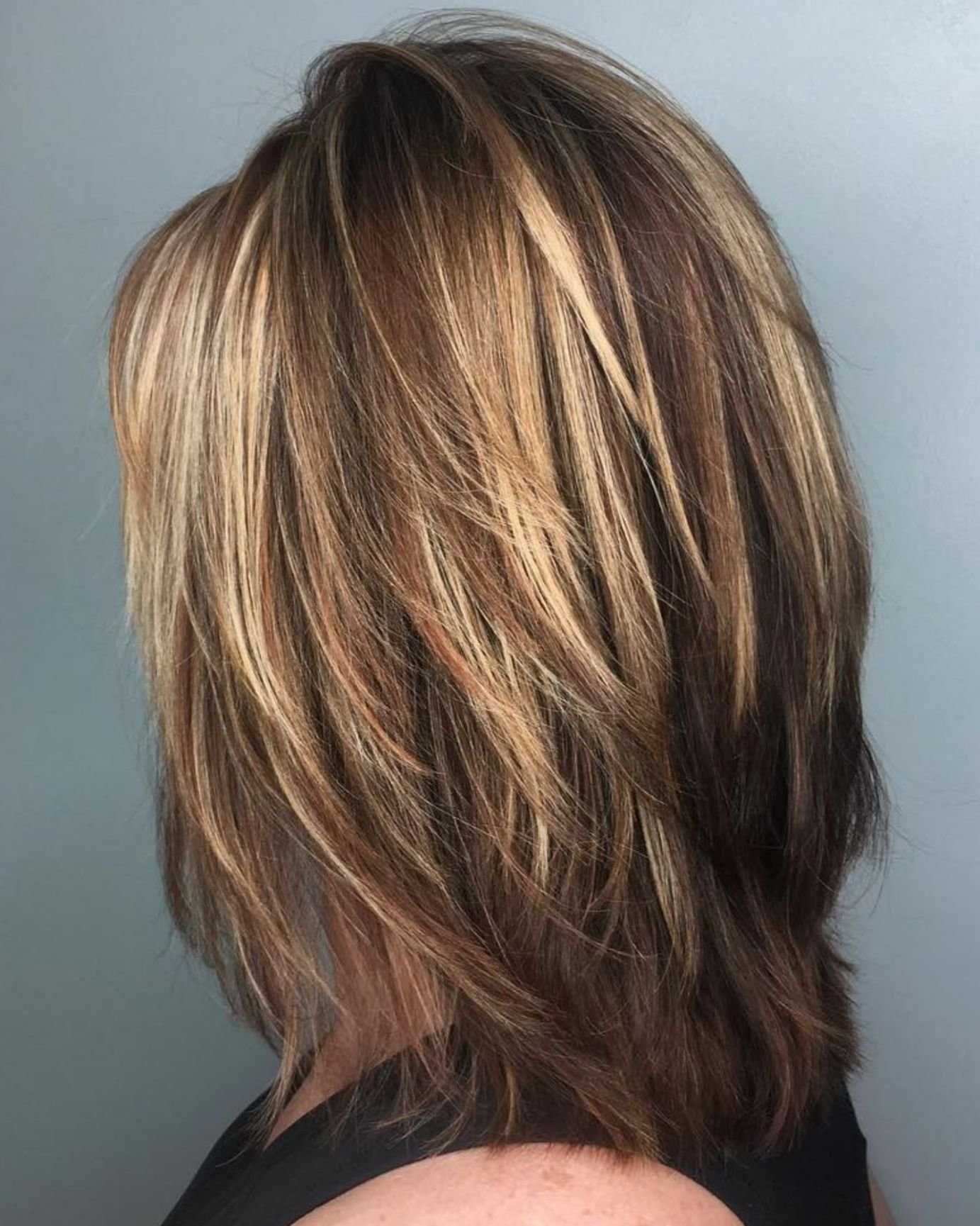 The Best 70 Brightest Medium Layered Haircuts To Light You Up In Pictures