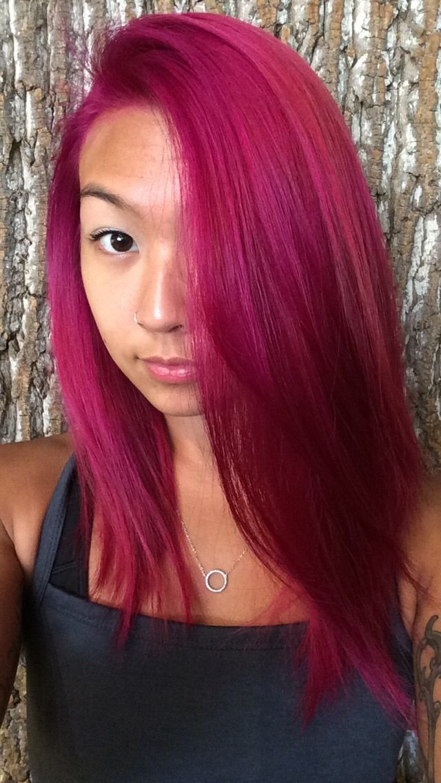 The Best Fuschia Magenta Hair Color Hair Makeup Magenta Pictures