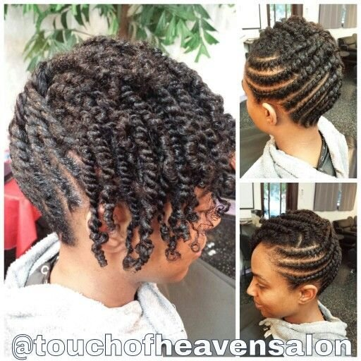 The Best Natural Hair Updo Two Strand Twists Www Pictures