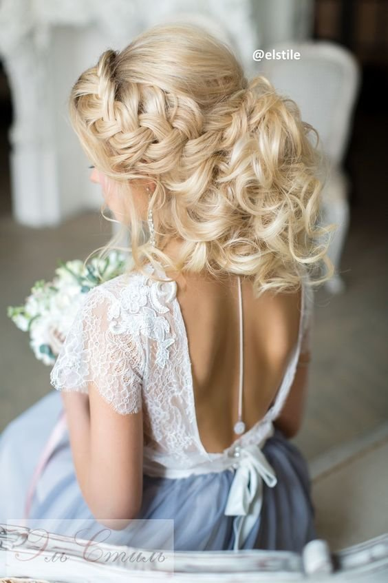 The Best Wedding Hairstyles For Open Back Dress Arabic Hairstyles Pictures
