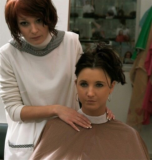 The Best Anjas Hairmodel De In The Chair Pictures