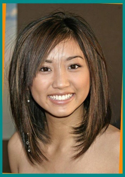 The Best Medium Length Haircuts For Round Faces And Thin Hair Pleasant Hairstyles Bob Pictures