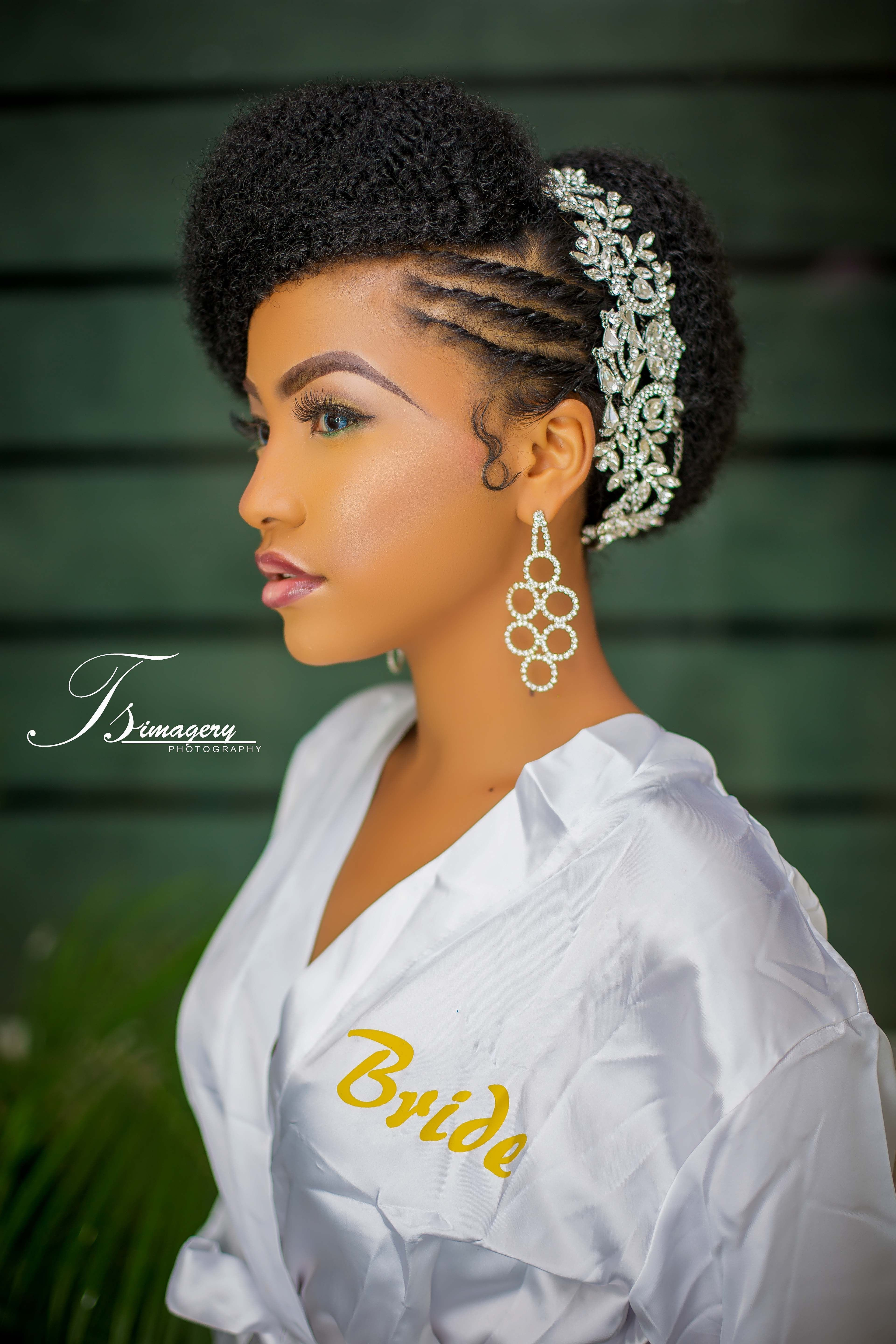 The Best Natural Hair Bridal Shoot From Tsimagery Natural Bridal Pictures