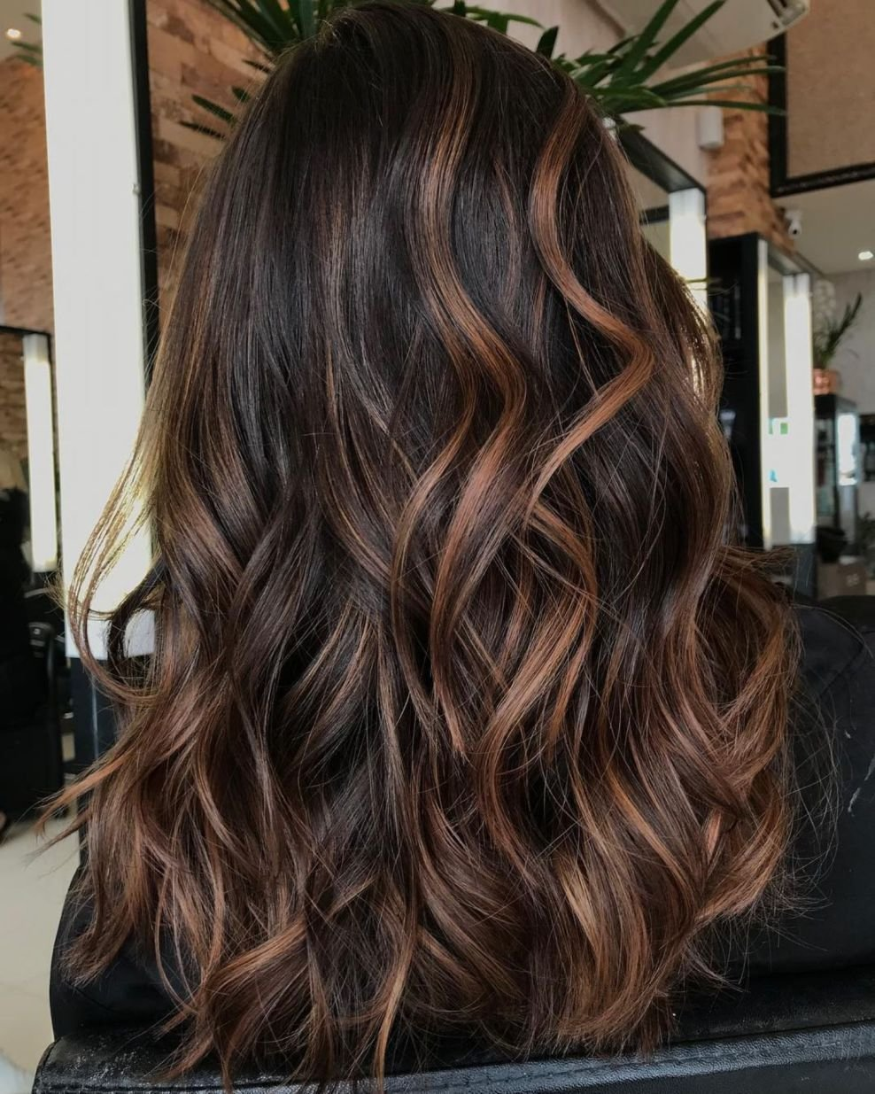 The Best 60 Hairstyles Featuring Dark Brown Hair With Highlights In Pictures