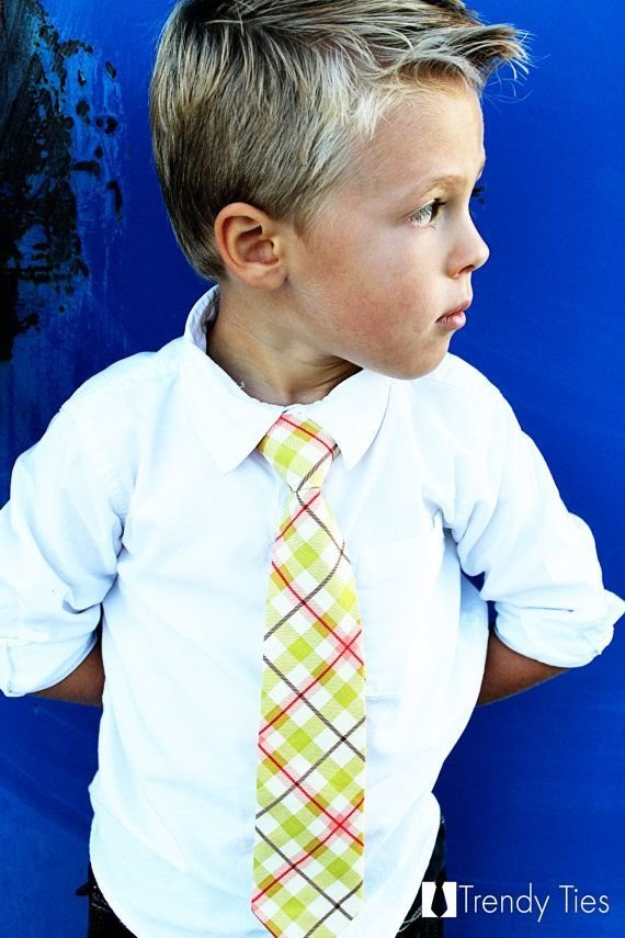 The Best Cute Plaid Tie For Kian For The Kidletts Boy Pictures