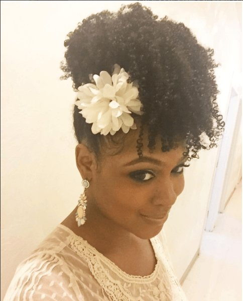 The Best Chic Natural Hairstyles For Weddings More Curly Pictures