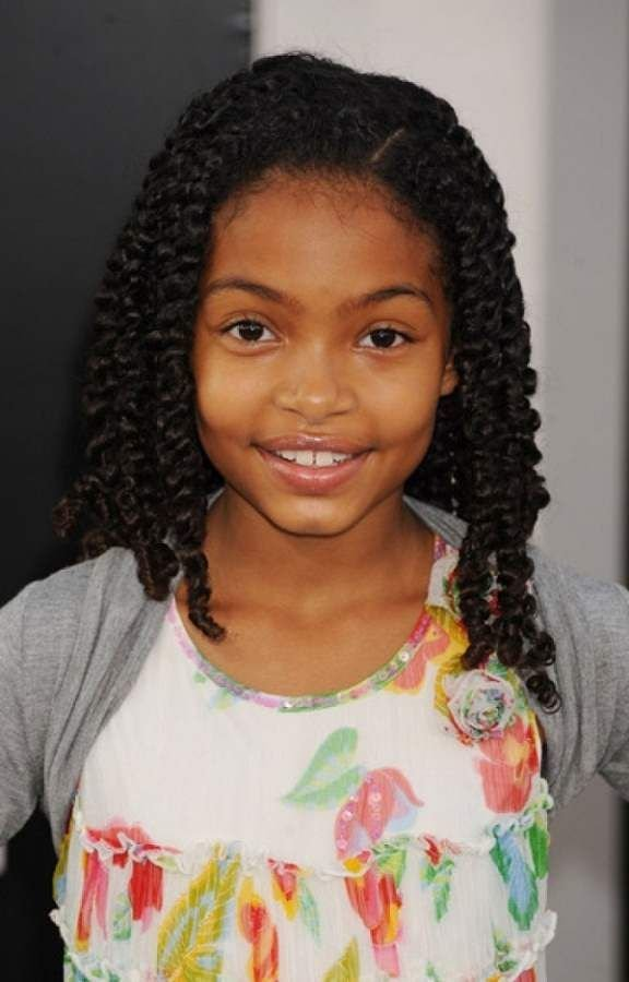 The Best Hairstyles 2014 For Little Girls African American Braid Pictures