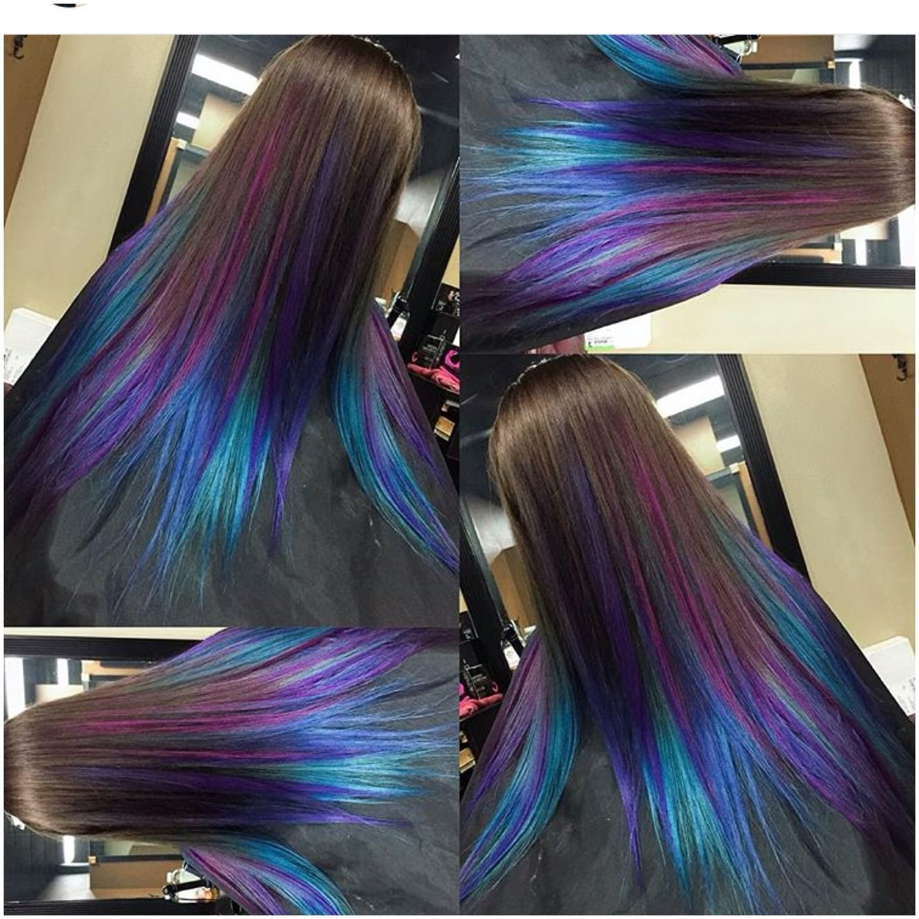 The Best Peek A Boo Hair Color Ideas Spefashion Pictures
