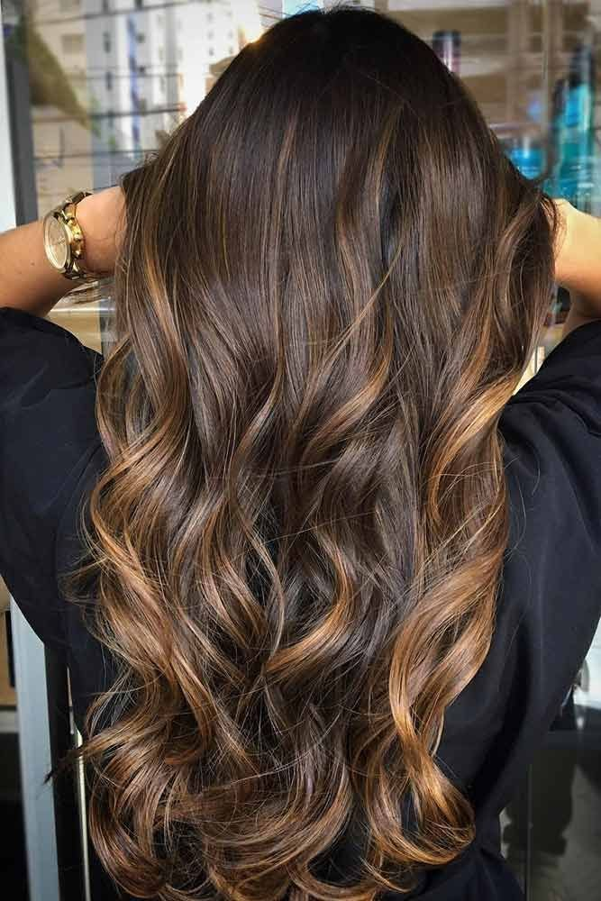 The Best 55 Highlighted Hair For Brunettes Beauty Balayage Hair Pictures