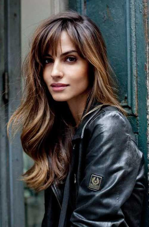 The Best 57 Of The Most Beautiful Long Hairstyles With Bangs Pictures