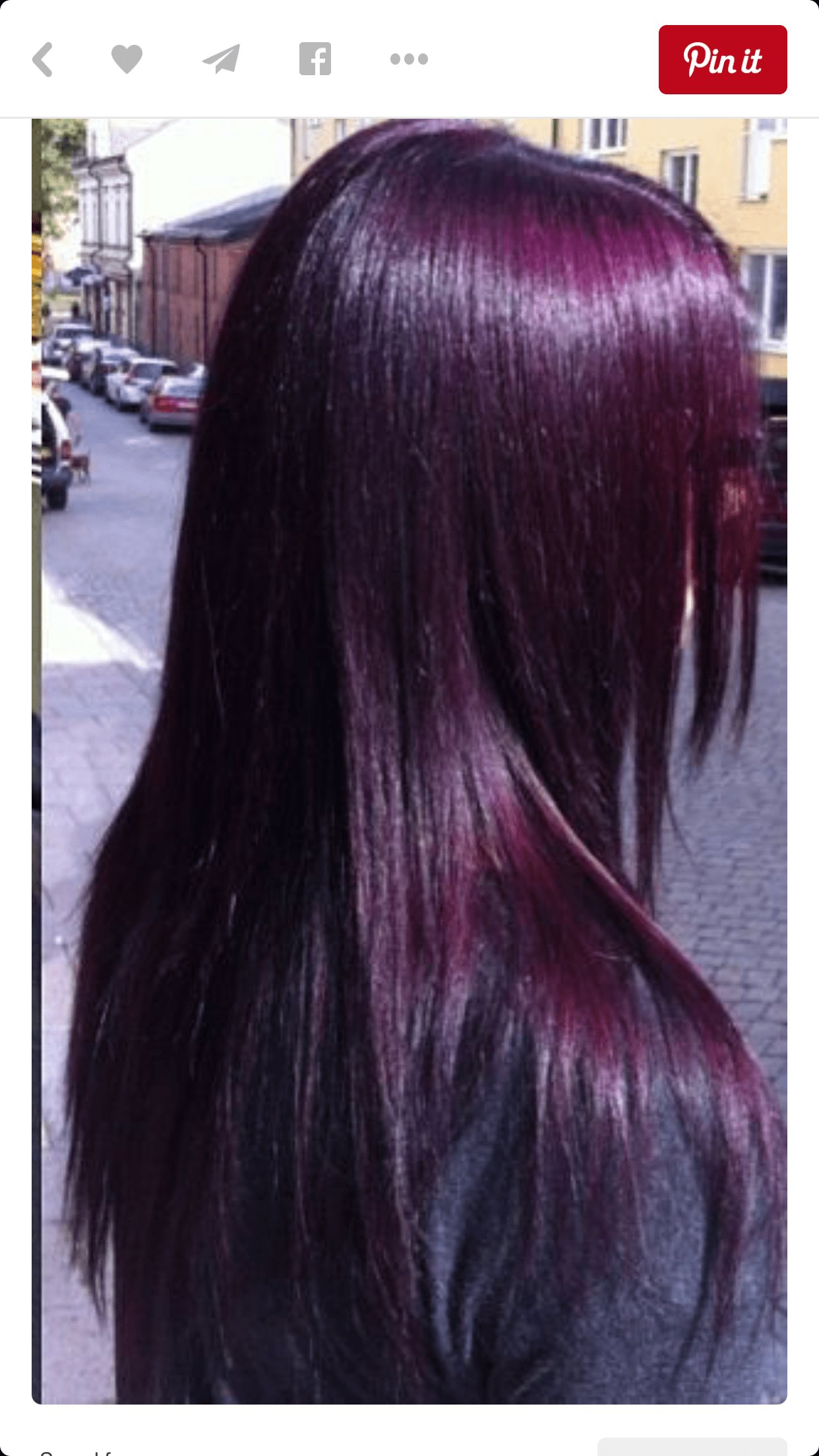 The Best Eggplant Purple So Almost Black Hair Colorz Hair Pictures