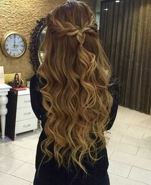 The Best Braided Prom Hair Formsl Hair Hair Styles Hair Long Pictures