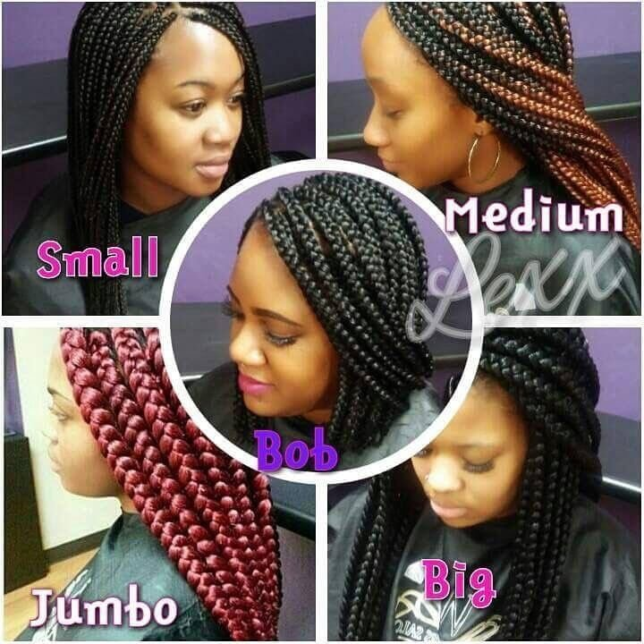 The Best If You Have Thin Edges Try A Bob Jumbo Or Big Style Braids That Way There's No Tension Created Pictures