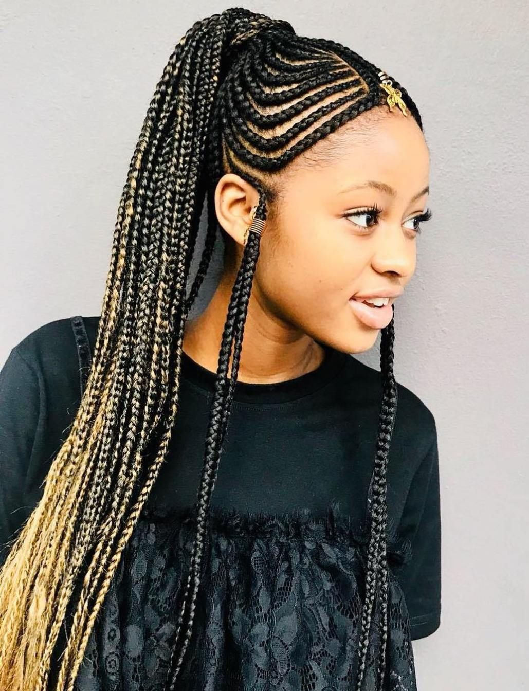 The Best 20 Amazing Fulani Braids For Women Of All Ages In 2019 Pictures