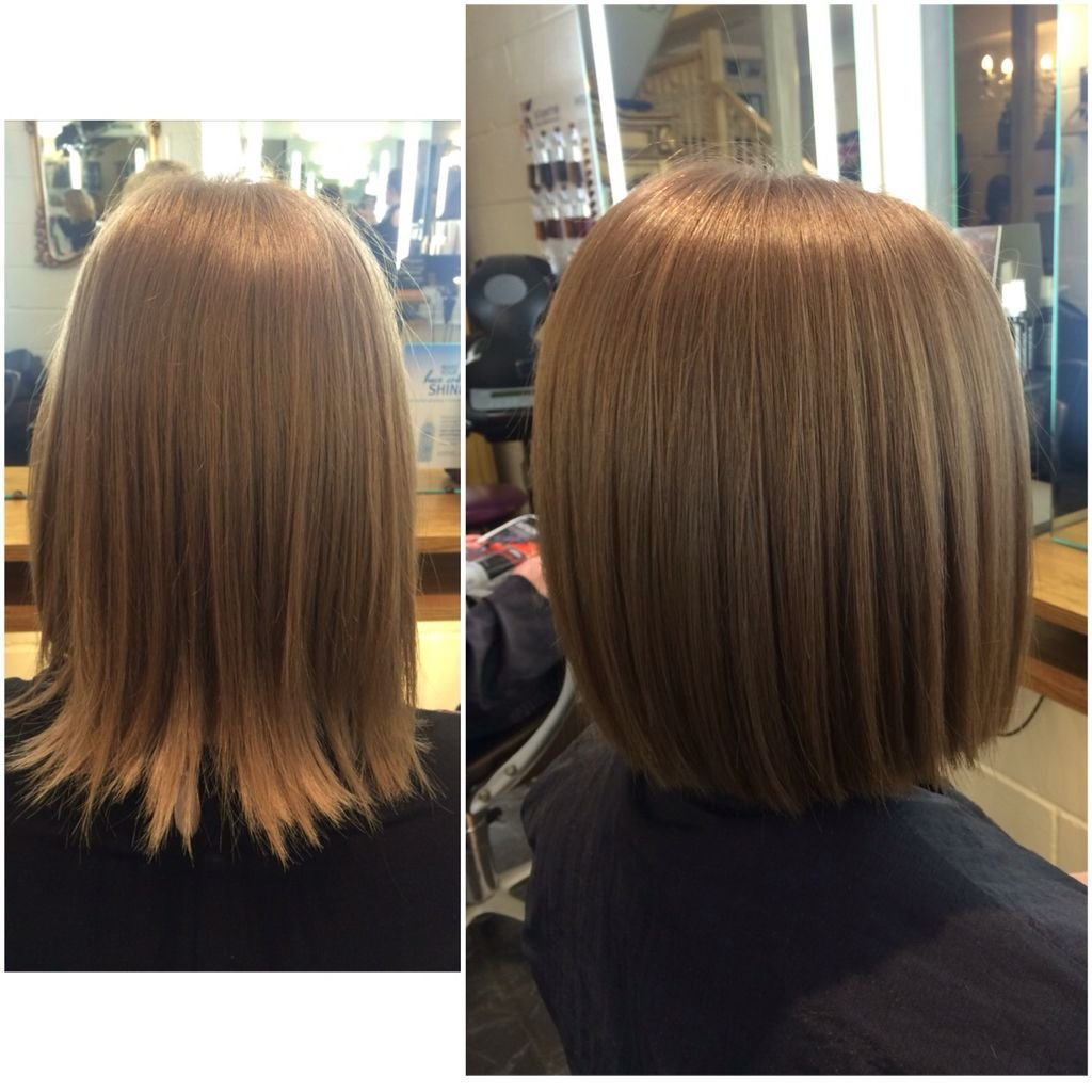The Best So Many Restyles At The Moment Wearing A One Length Bob Straight And Sleek Gives It That Edgy Pictures