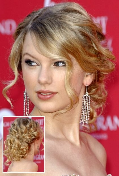 The Best Taylor Swift Long Curly Bun Hairstyles In 2019 Hair Pictures