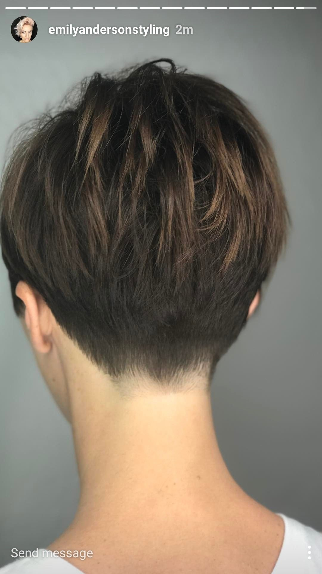 The Best Short Hair From Behind Hair In 2019 Pinterest Pictures