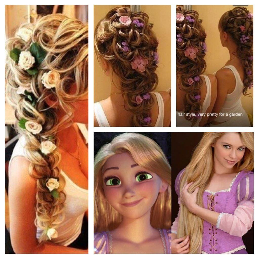 The Best Rapunzel Inspired Hair Princesses Princess Hairstyles Pictures