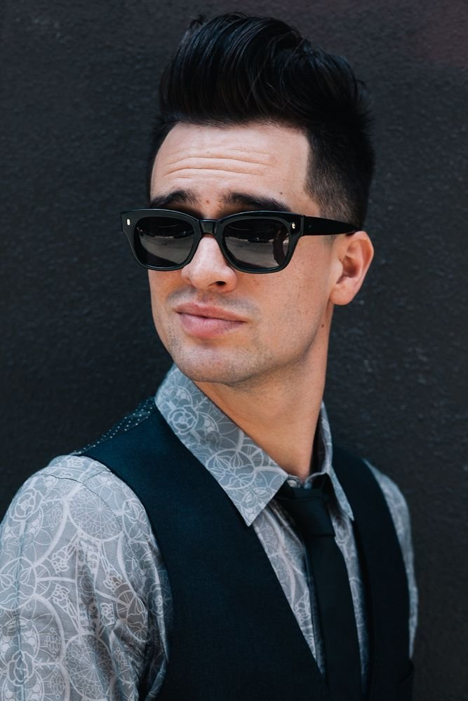 The Best Brenson Urie S Undercut Boys Hairstyles Brendon Urie Pictures