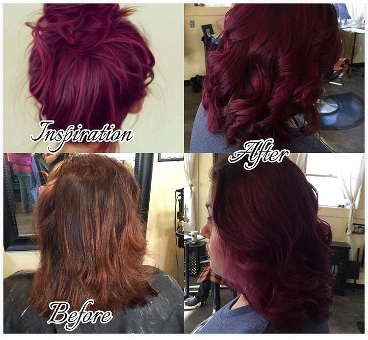 The Best Tube Of Wild Orchid 1 2 Oz Violet Sq**Rt Magenta Pravana Pictures