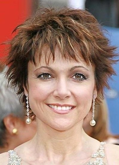 The Best Short Haircuts For Real Women 2012 Women Modern Short Pictures