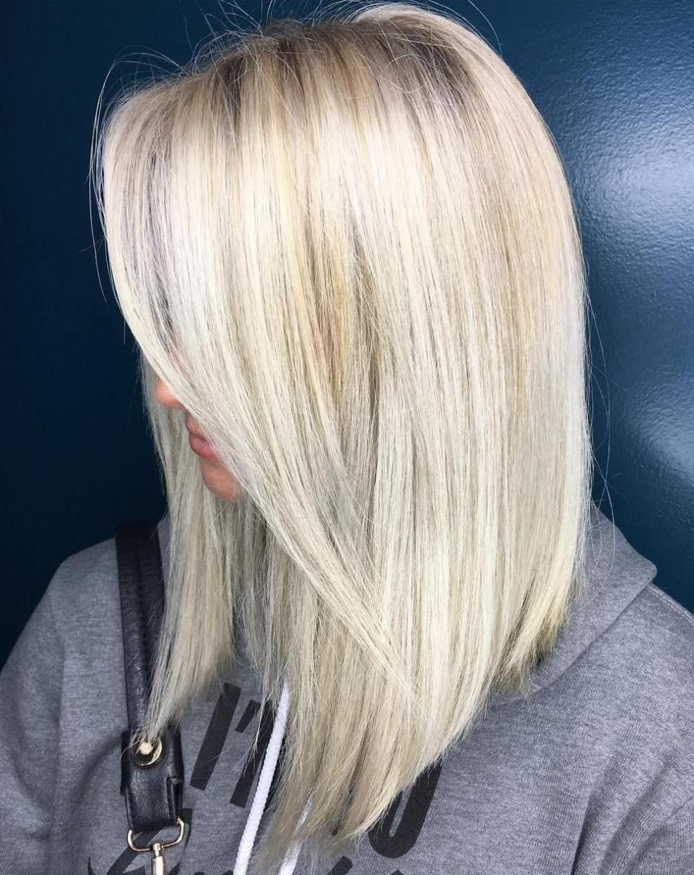 The Best 40 Styles With Medium Blonde Hair For Major Inspiration Hair Pinterest Long Platinum Pictures