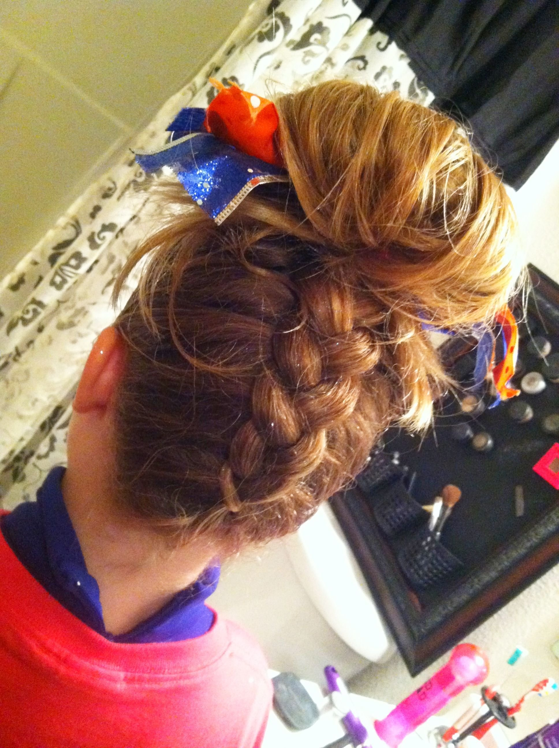 The Best For Wse Braid Up The Back With Angel S Signature Bun On Top Pictures