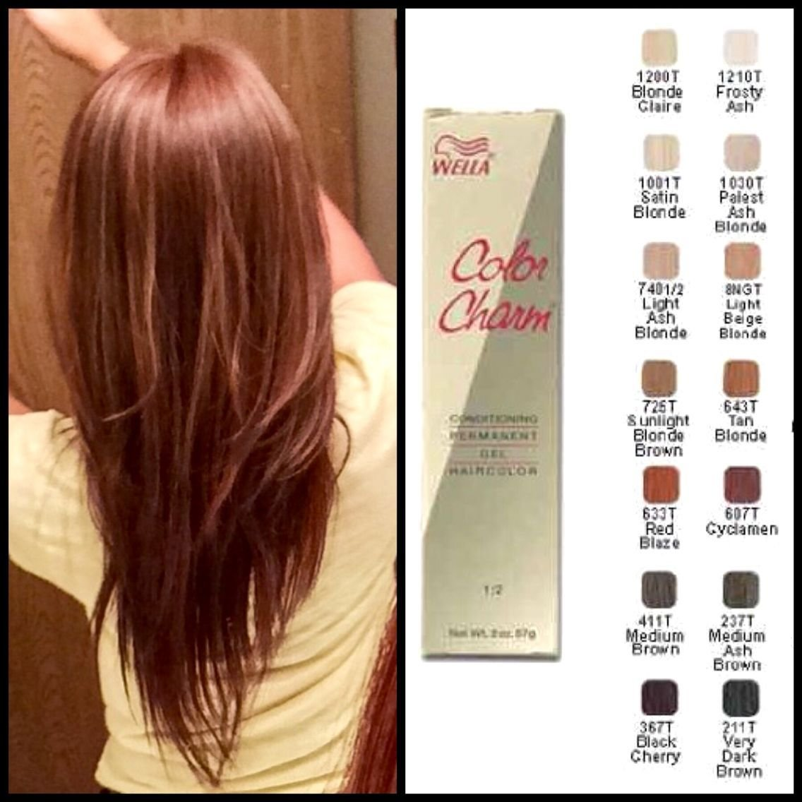 The Best My Favorite Affordable Hair Dye Brand Wella Color Charm Pictures