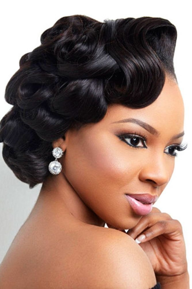 The Best 42 Black Women Wedding Hairstyles Hair Black Wedding Pictures