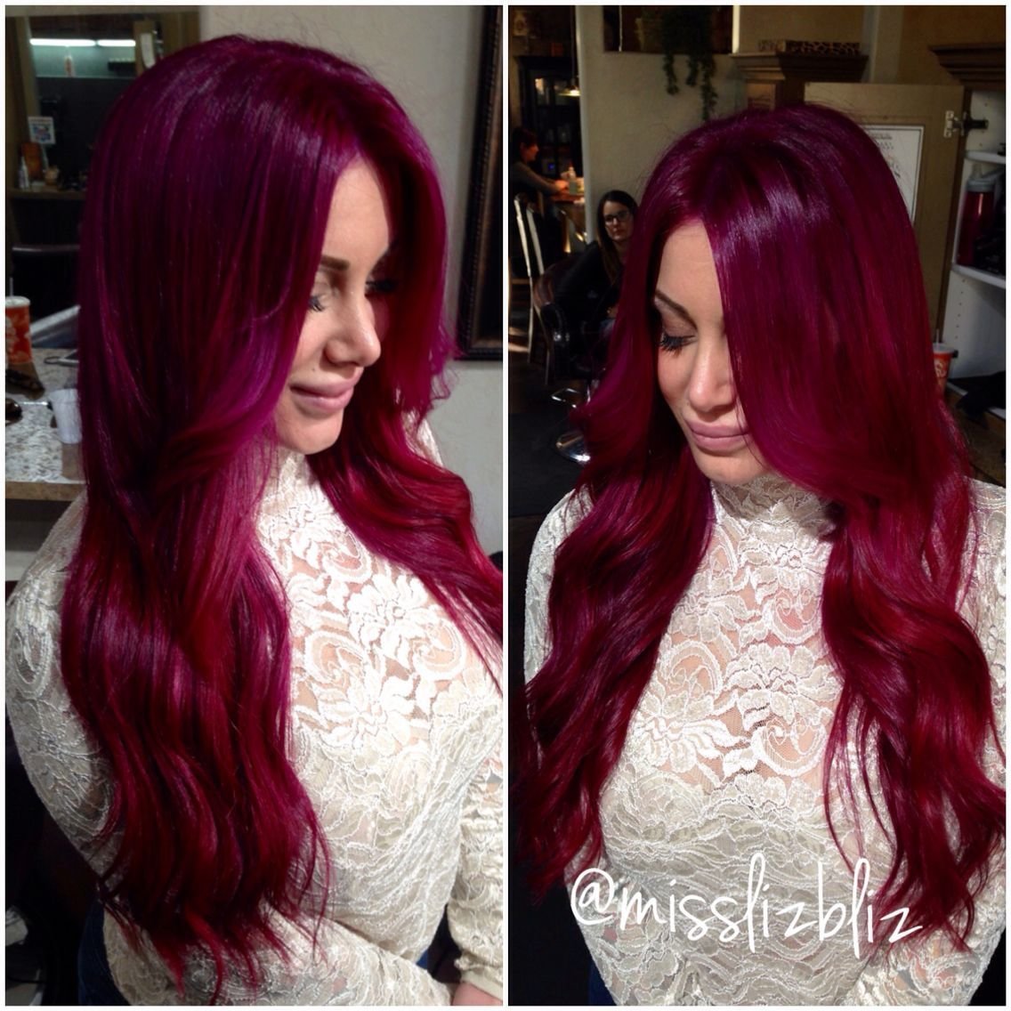 The Best Raspberry Lush Crush In 2019 Hair Pravana Hair Color Pictures