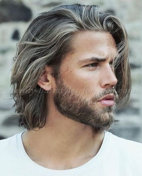 The Best Medium Length Hairstyles For Men In 2019 Hair Styles Hair Cuts Long Hair Styles Haircuts Pictures