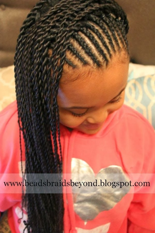 The Best Box Twist Styles Kids New Hair Style For Your Girls Pictures