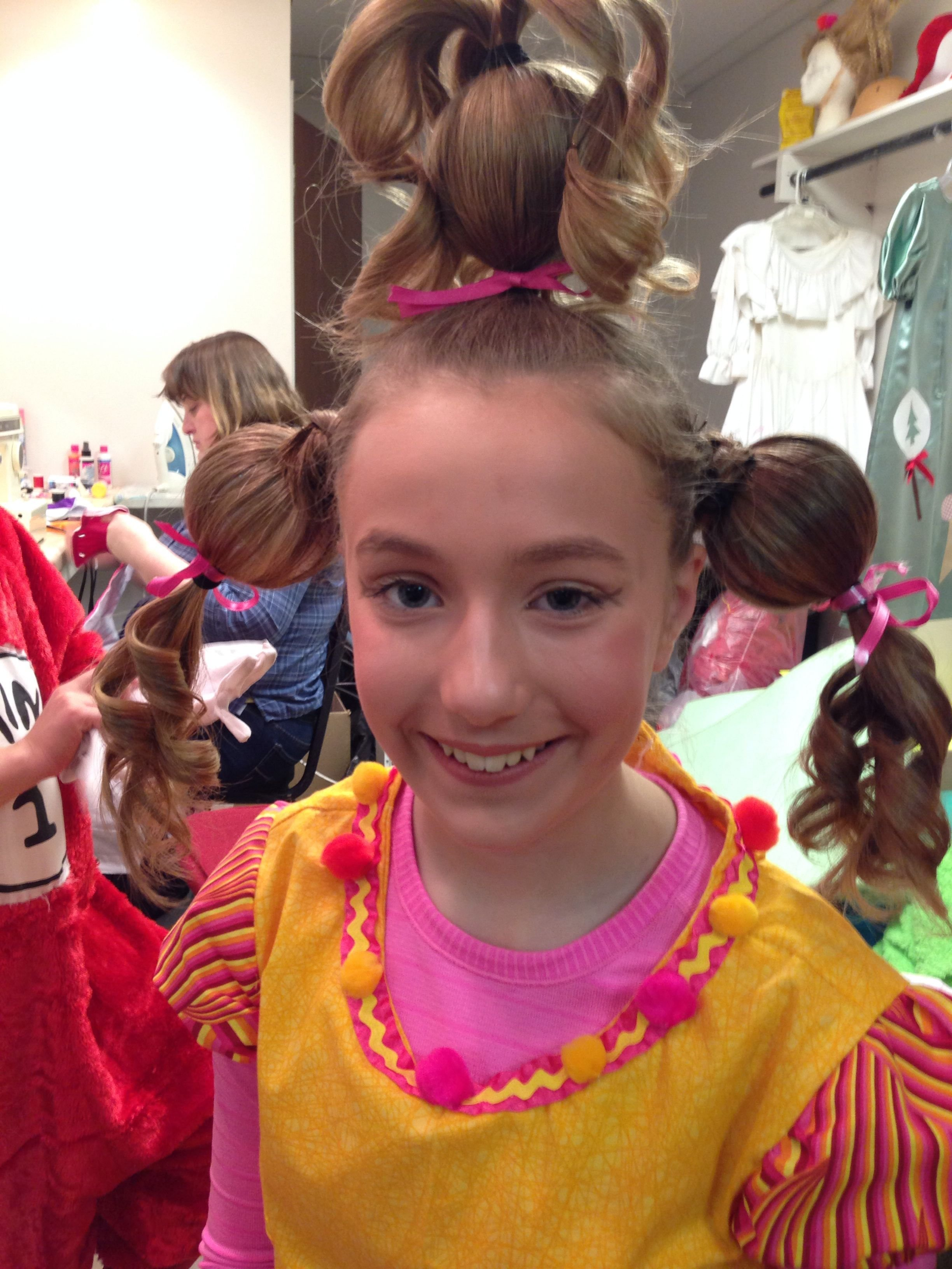 The Best Cindy Lou Hoo Hairstyle Whoville Hair T Hair Studio Pictures