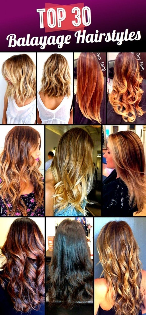 The Best Top 30 Balayage Hairstyles To Give You A Completely New Look Pictures