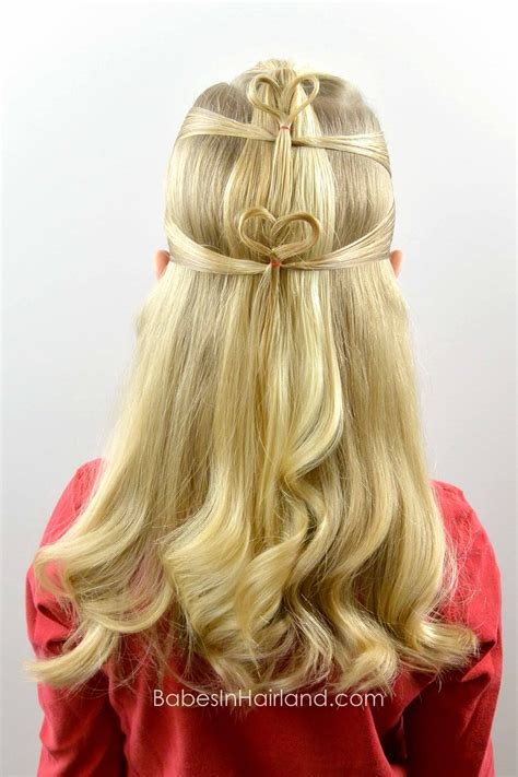 The Best Double Floating Hearts Valentine S Day Hairstyle B*B*S In Hairland Pictures