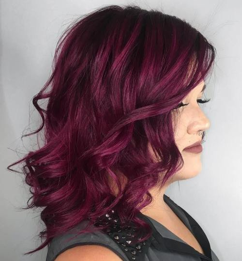 The Best 50 Shades Of Burgundy Hair Dark Red Maroon Red Wine Pictures