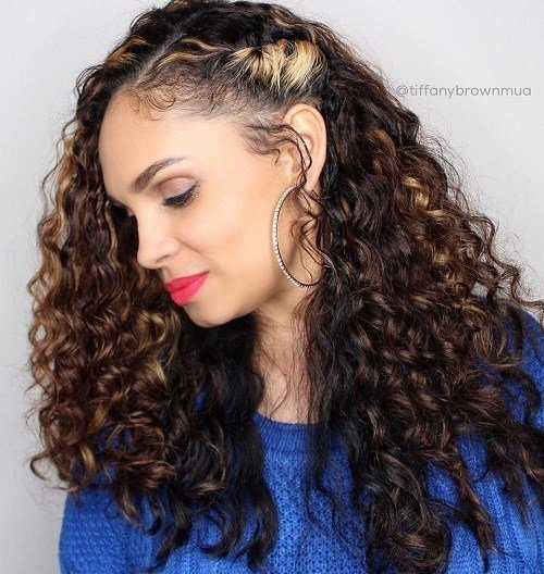 The Best 20 Cute Hairstyles For Naturally Curly Hair In 2019 Pictures