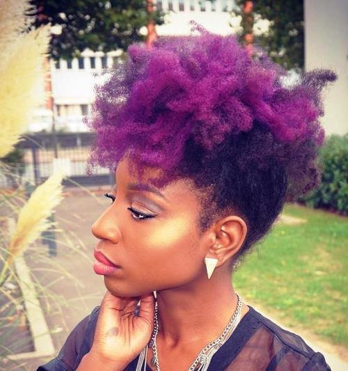 The Best Fun Fancy And Simple Natural Hair Mohawk Hairstyles Pictures