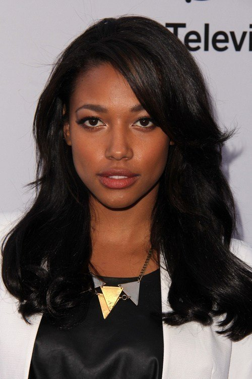 The Best Black Hairstyles With Layers And Bangs Hair Pictures