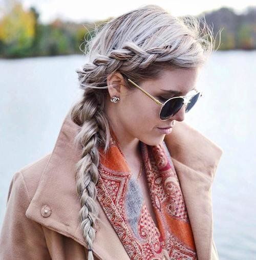 The Best 30 Elegant French Braid Hairstyles Pictures