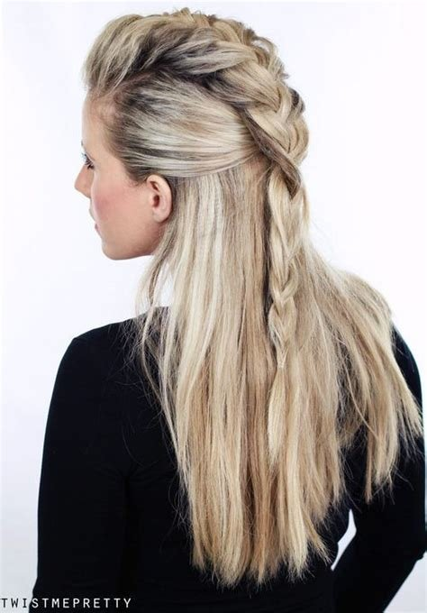 The Best 20 Trendy Half Braided Hairstyles Pictures