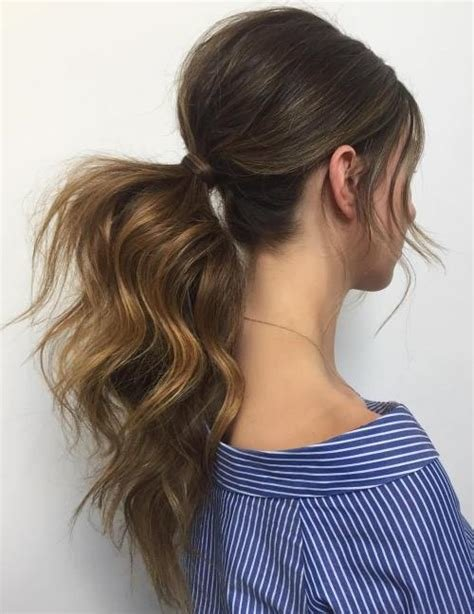 The Best The 20 Most Alluring Ponytail Hairstyles Pictures