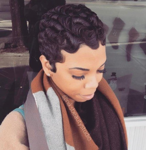 The Best 13 Finger Wave Hairstyles You Will Want To Copy Pictures