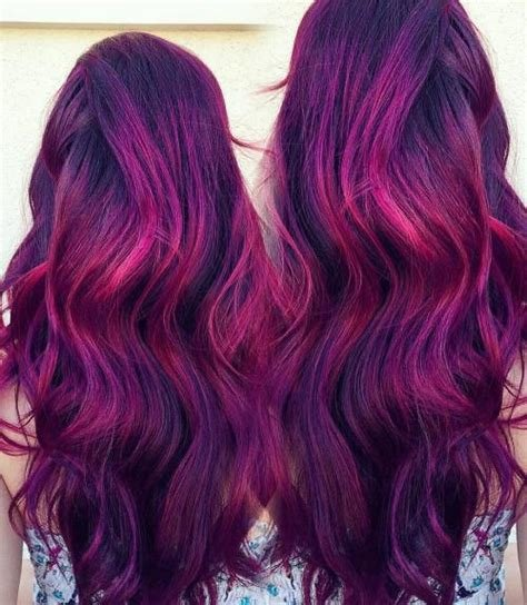 The Best 20 Plum Hair Color Ideas For Your Next Makeover 2019 Update Pictures